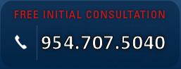 free initial consultation  954.707.5040